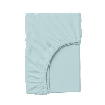 Купить Постельное белье, Простыня на резинке Cosas, 140х200 см, ранфорс, голубой, Украина