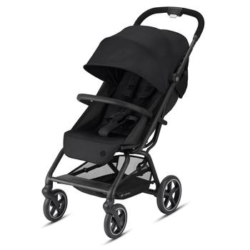 Купить Детские коляски, Прогулочная коляска Cybex Eezy S 2 Plus Deep Black, с бампером, черный (520001717), Китай, Черный