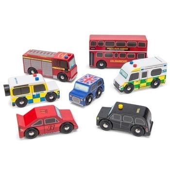 Набор игрушечных машинок Le Toy Van Лондон (TV267)