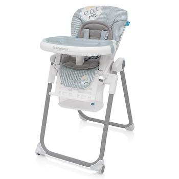 Купить Стульчики для кормления и бустеры, Стульчик для кормления Baby Design Lolly-07 2017, серый (20781)