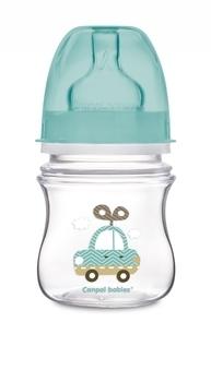 Купить Бутылочки и соски, Антиколиковая бутылочка Canpol babies Easystart Машинка, 120 мл, бирюзовый (35/205), Польша