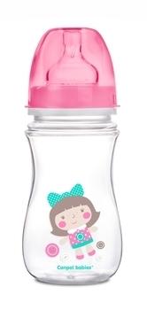 Купить Бутылочки и соски, Антиколиковая бутылочка Canpol Babies Easystart, 240 мл, розовый (35/206 Рожевий), Польша