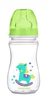 Купить Бутылочки и соски, Антиколиковая бутылочка Canpol Babies Easystart Лошадка, 240 мл, зеленый (35/206), Польша