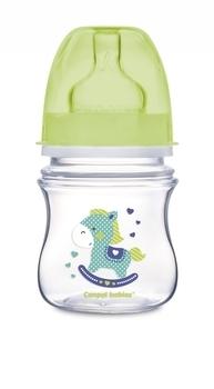 Купить Бутылочки и соски, Антиколиковая бутылочка Canpol babies Easystart Лошадка, 120 мл, зеленый (35/205), Польша