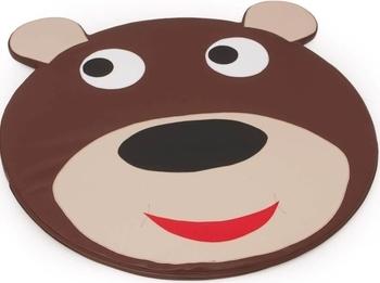 Купить Детский спортивный инвентарь, Детский мат Kidigo Мишка, 1, 2х1, 2х0, 05 м, коричневый (EKZDK-M), Украина