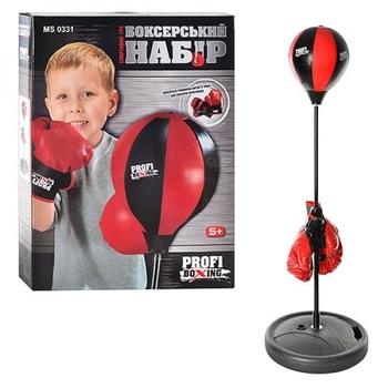 Купить Детский спортивный инвентарь, Детский боксерский набор Bambi MS 0331 (22865), Китай