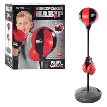 Купить Детский спортивный инвентарь, Детский боксерский набор Bambi MS 0333 (22877), Китай