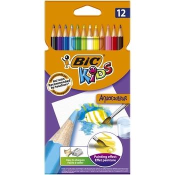 Цветные карандаши BIC Kids Aquacouleur, 12 шт. (8575613)