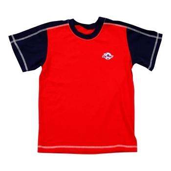 Купить Спортивная одежда, Спортивная футболка Anmerino Football, р.122, черный с красным (ROZ6400008726), Украина, Черный, Трикотаж