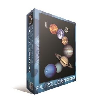 Купить Пазлы, шнуровки и головоломки, Пазл Eurographics Солнечная система, 1000 элементов (6000-0100), Германия