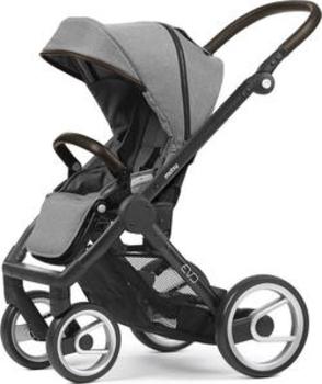 Купить Детские коляски, Прогулочная коляска Mutsy EVO Farmer Mist/EVO2 Black Brown, серый (SEATEVOFAMIST-EVO19BRGRB), Нидерланды, Серый
