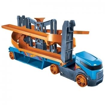 Грузовик транспортер хот вилс крутой спуск регулировка фар на т5 транспортер