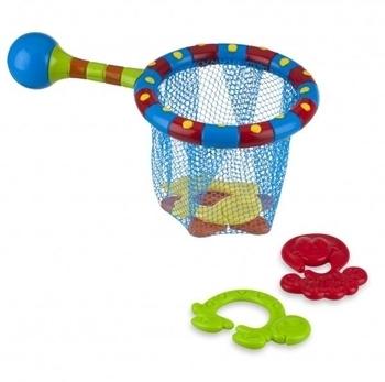 Купить:  Набор в ванную Nuby Сачок и игрушки-прорезыватели Nuby