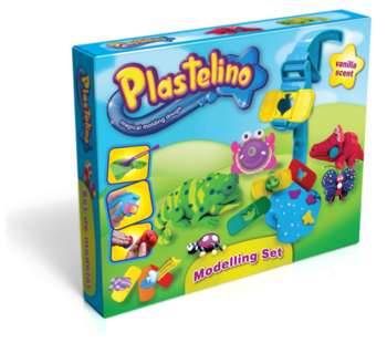 Набор для лепки Plastelino Фауна Plastelino  . Pampik