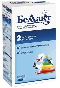Сухая молочная смесь Беллакт 2, 400 г Беллакт