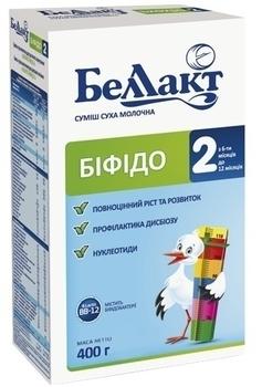 Сухая молочная смесь Беллакт Бифидо 2, 400 г Беллакт