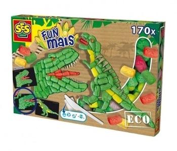 Эко набор для творчества SES Динозавр (цветные элементы + аксессуары) SES  . Pampik