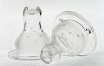 Соска-непроливайка Nuby для бутылочек с широким горлышком, Мультипоток, двукомпонентная, 2 шт. Nuby