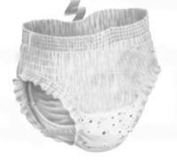 Трусики-подгузники Huggies для девочек 5 (13-17 кг) 2 шт. Huggies
