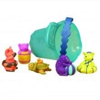Набор для игры в ванной Battat Брызгунчики-Веселунчики Battat  . Pampik
