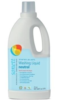 Концентрированное органическое жидкое средство для стирки Sonett, 2л Sonett