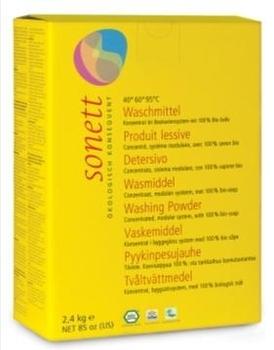 Органический мыльный порошок Sonett для стирки, 2,4 кг Sonett