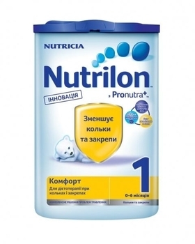 Сухая детская молочная смесь Nutrilon Комфорт 1, 800 г Nutrilon
