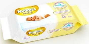 Влажные салфетки Huggies Elite Soft, 64 шт. Huggies