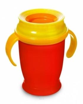 Купить:  Чашка с ручками LOVI junior красная, 250 мл LOVI
