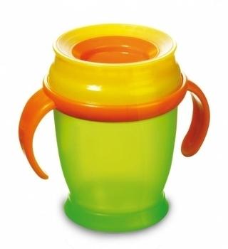 Купить:  Чашка с ручками LOVI mini зеленая, 210 мл LOVI