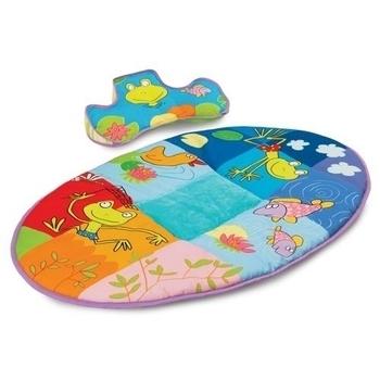 Развивающий коврик с подушечкой Taf Toys Синяя река Taf Toys  . Pampik