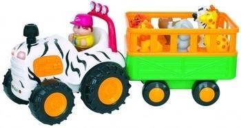 Игровой набор Kiddieland Трактор Сафари Kiddieland  . Pampik