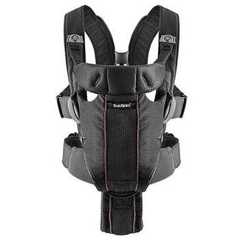 Рюкзак-кенгуру Babybjorn Baby Carrier Miracle Mesh, черный