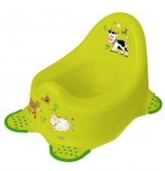 Горшок Keeeper (Prima Baby) Funny Farm, зеленый (8722) Keeeper