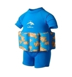 Купальник-поплавок Konfidence Floatsuits, голубой, 4-5 лет