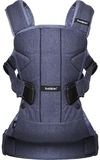Рюкзак-кенгуру Babybjorn Baby Carrier One Denim, синий деним