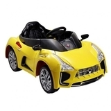 Электромобиль BabyHit Sport-Car Yellow, желтый - Pampik