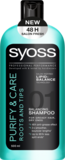 Шампунь Syoss Purify & Care, 500 мл