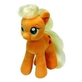 Мягкая игрушка TY My Little Pony Applejack, 20 см (41013) - Pampik