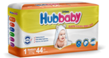 Подгузники Hubbaby New Born 1 (2-5 кг) 44 шт.
