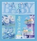 Фотоальбом EVG (20sheet Baby collage Blue w/box (UA)) - Pampik