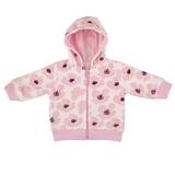 Куртка Фламинго, велюр, р.68, розовый (322-522) - Pampik