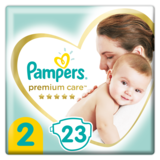 Подгузники Pampers Premium Care 2 (4-8 кг), 23 шт.