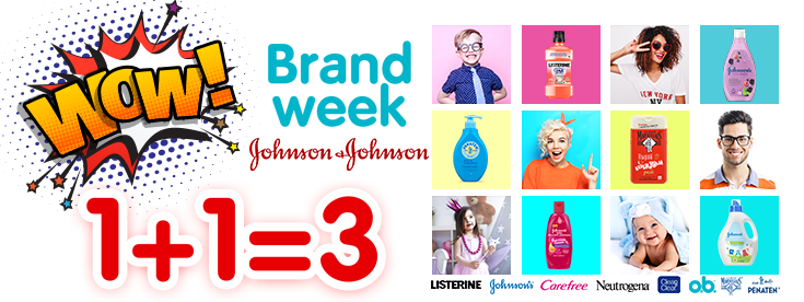 Brand week Johnson & Johnson